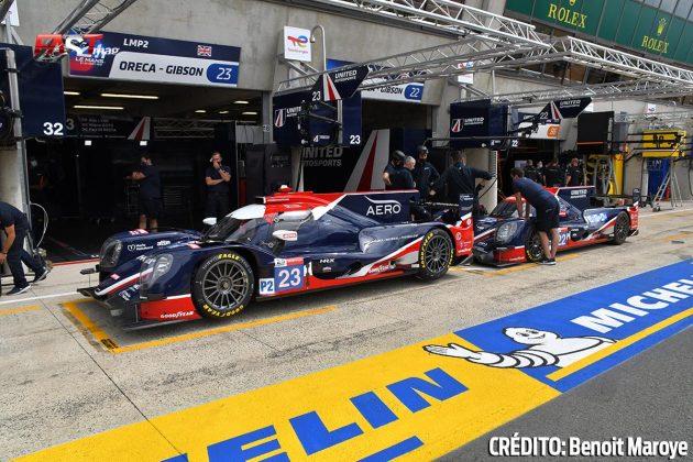 """Los ORECA No. 23 y 32 LMP2 de United Autosports en los preparativos de la 89º edición de las """"24 Horas de Le Mans"""" (FOTO: Benoit Maroye para FASTMag)"""