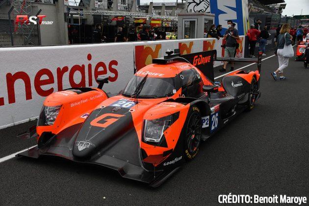 """El Aurus No. 26 LMP2 de G-Drive Racing, de Roman Rusinov, Franco Colapinto y Nyck de Vries, en los preparativos de la 89º edición de las """"24 Horas de Le Mans"""" (FOTO: Benoit Maroye para FASTMag)"""