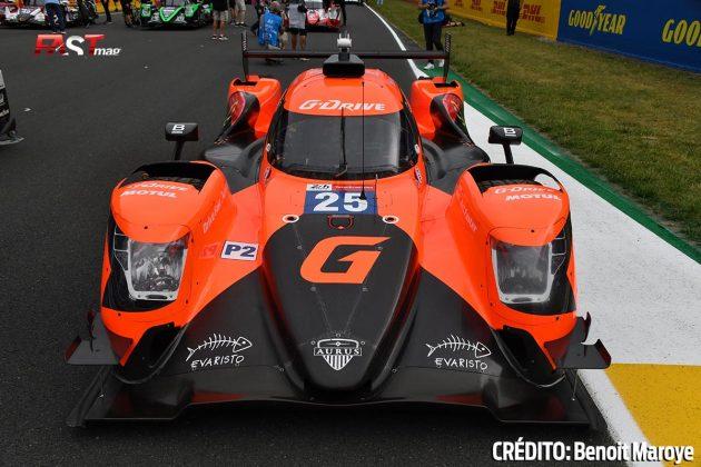 """El Aurus No. 26 LMP2 de G-Drive Racing, de John Falb, Roberto Merhi y Rui Andrade, en los preparativos de la 89º edición de las """"24 Horas de Le Mans"""" (FOTO: Benoit Maroye para FASTMag)"""