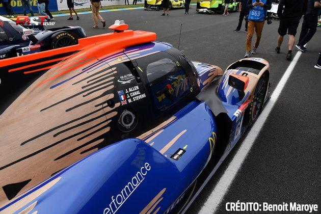 """El ORECA No. 65 LMP2 de Panis Racing, de Julien Canal, Will Stevens y James Allen, en los preparativos de la 89º edición de las """"24 Horas de Le Mans"""" (FOTO: Benoit Maroye para FASTMag)"""