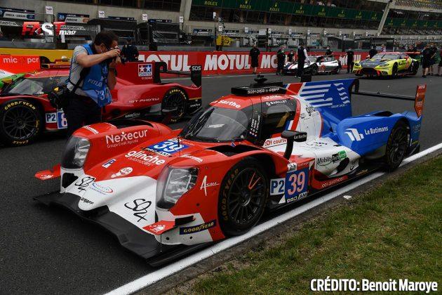 """El ORECA No. 39 LMP2 de SO24-Dirob by Graff, de Vincent Capillaire, Arnold Robin y Maxime Robin, en los preparativos de la 89º edición de las """"24 Horas de Le Mans"""" (FOTO: Benoit Maroye para FASTMag)"""
