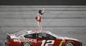 Blaney gana en Daytona; Suárez, eliminado de playoffs (FOTO: Jared C. Tilton/NASCAR Media)