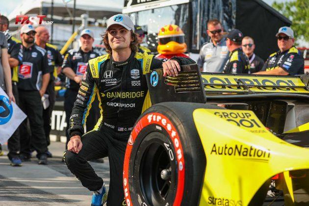 Colton Herta, piloto del No. 26 de Andretti Autosport, ganó la PP de la primera carrera de IndyCar en las calles de Nashville (FOTO: Arturo Vega para FASTMag)