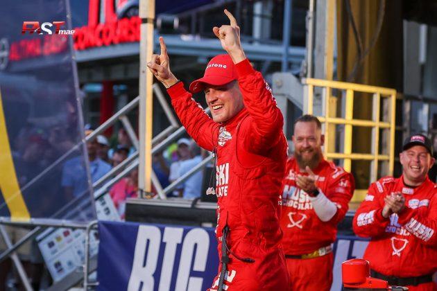Marcus Ericsson, piloto del No. 8 de Chip Ganassi Racing, ganador de la primera edición del Music City Grand Prix de la IndyCar en las calles de Nashville (FOTO: Arturo Vega para FASTMag)