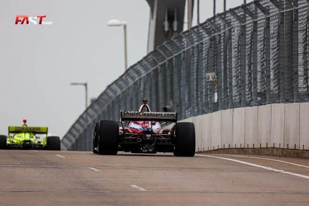 Takuma Sato, piloto del No. 30 de Rahal Letterman Lanigan Racing, durante las prácticas de viernes de la IndyCar en Nashville (FOTO: Arturo Vega para FASTMag)