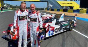 Los Magnussen, listos para encarar Le Mans juntos (FOTO: IMSA)