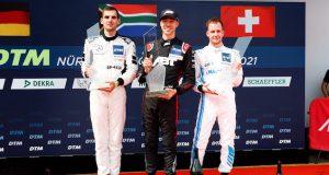 Nürburgring 1: Van der Linde logra tercera victoria del año (FOTO: DTM)