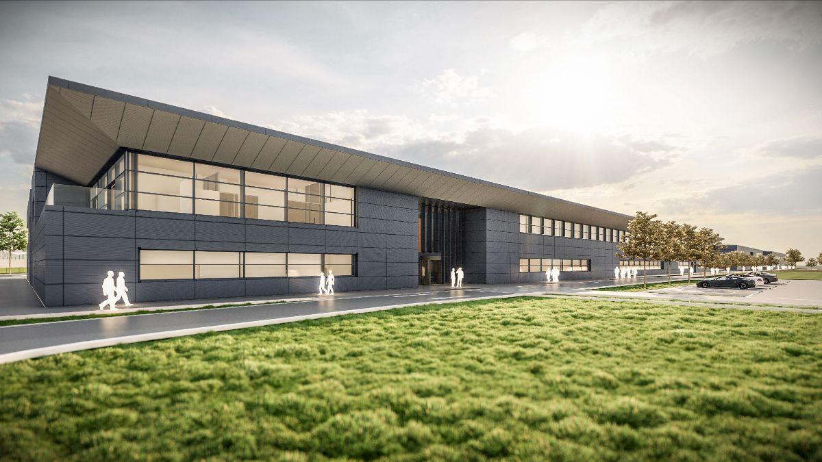 Así quedarían instalaciones de campus nuevo (FOTO: Aston Martin F1)