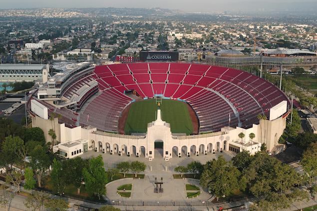 NASCAR correrá en Estadio Coliseo de Los Ángeles en 2022 (FOTO: NASCAR)