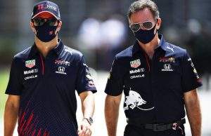Christian Horner sobre la continuidad de Checo Pérez (FOTO: Mark Thompson/Red Bull Content Pool)