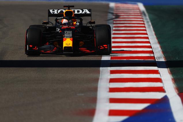 Max Verstappen arrancará al final de la parrilla del GP de Rusia (FOTO: Bryn Lennon/Red Bull Content Pool)