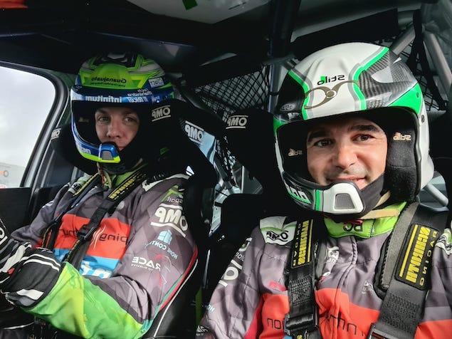 Benito Guerra y Dani Cue (FOTO: BGR Motorsport)