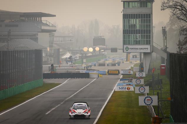 Rally Monza repetirá como final del WRC (FOTO: Toyota Gazoo Racing WRC)