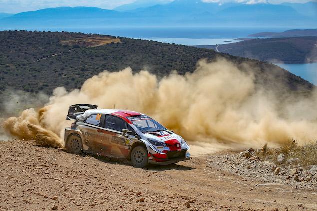 Grecia, Día 2: Rovanperä, en control del Rally helénico (FOTO: Toyota Gazoo Racing WRT)