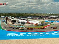 Arranque del Gran Premio de Estados Unidos 2021 de F1, en el Circuito de las Américas (FOTO: Nick Hreror para FASTMag)