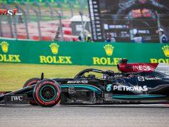 Lewis Hamilton (Mercedes AMG F1) durante la calificación del GP de Estados Unidos de F1 en el Circuito de las Américas de Austin (FOTO: Arturo Vega para FASTMag)