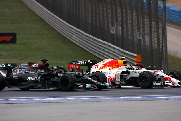 """Pérez suma otro podio en Turquía: """"Llego a casa con todo el ánimo"""" (FOTO: Mercedes AMG F1 Team)"""