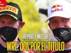 WRC: OGIER vs EVANS por el título 2021 - REPORTE MOTOR