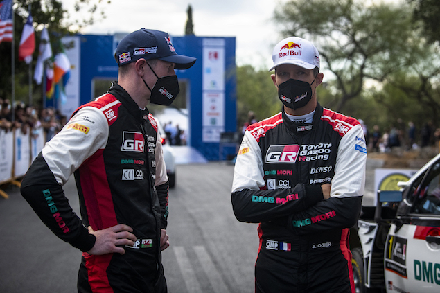 Oiger y Evans buscan el título (FOTO: Jaanus Ree/Red Bull Content Pool)