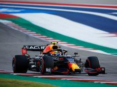 Checo Pérez lidera segunda práctica de GP de EUA (FOTO: Jared C. Tilton/Red Bull Content Pool)