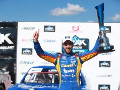 García repite en Aguascalientes y retoma liderato de NASCAR México (FOTO: NMX)