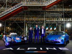 Alpine confirma programa LMDh para 2024. Izq-Der: Pierre Fillon, Laurent Rossi y Philippe Sinault (FOTO: Florent Gooden/Alpine)